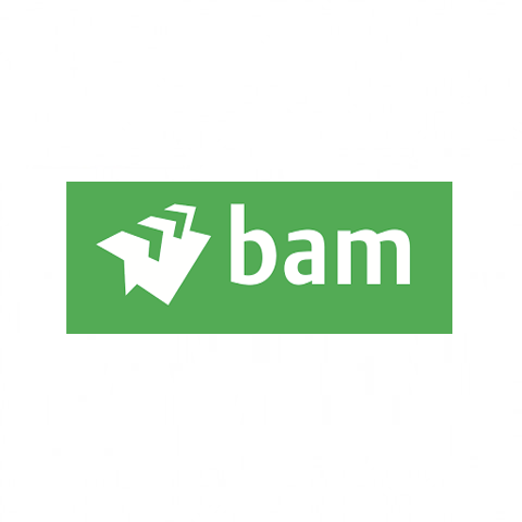 Logo Koninklijke BAM Groep